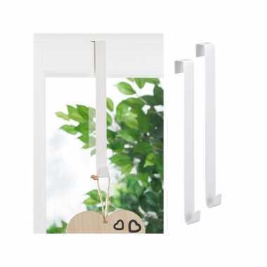 Deur venster ophang haken set 4x stuks kind