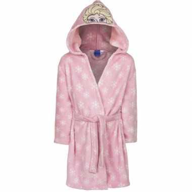 Frozen badjas elsa roze kind
