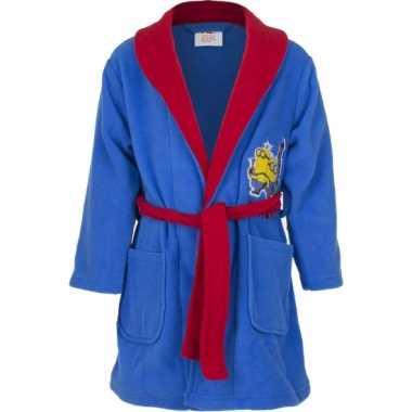 Minions badjas blauw kind