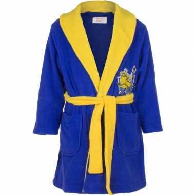 Minions badjas donkerblauw kind