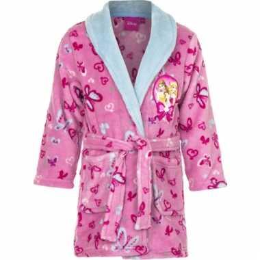 Princess badjas meisjes roze kind